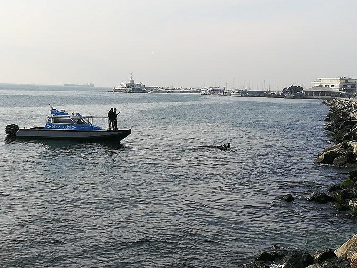 Bakırköy'de denizden ceset çıktı