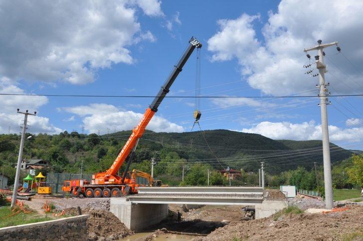 Kandıra ilçesinde dere köprüsü yapılacak