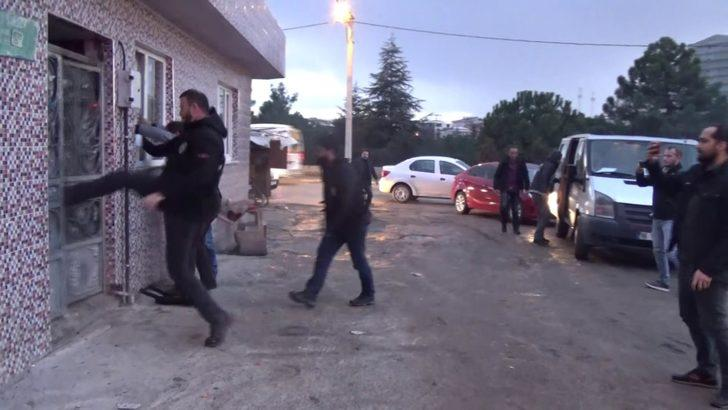 Bursa'da uyuşturucu ticaretine 6 tutuklama
