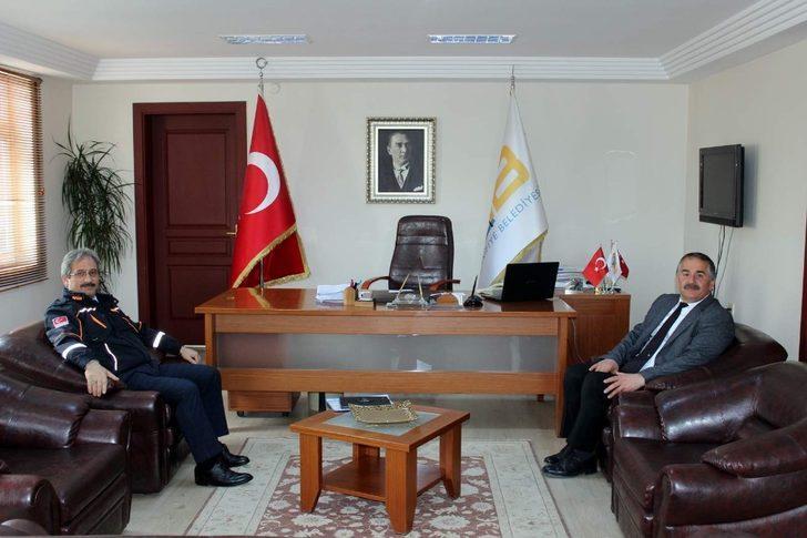 AFAD Müdürü Kaşkaş'tan Başkan Karakullukçu'ya ziyaret