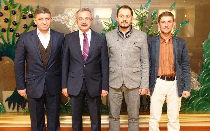 Başkan Köşker, Trabzonluları ağırladı