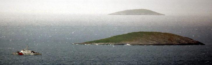 Çavuş Adası'nda askeri inşaat başladı