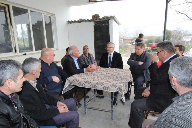 Saruhanlı Belediyesinden Dilek Mahallesine yeni yatırımlar