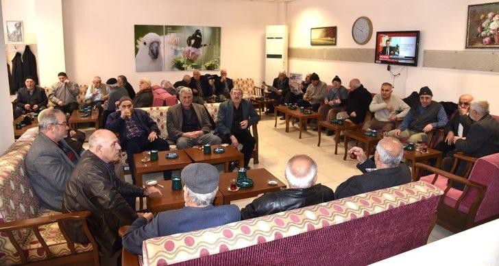 Selçuklu'da Emekli Lokalleri yoğun ilgi görüyor