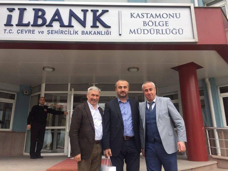 Yılmaz ve beraberindekiler Kastamonu'da ziyaretler gerçekleştirdi