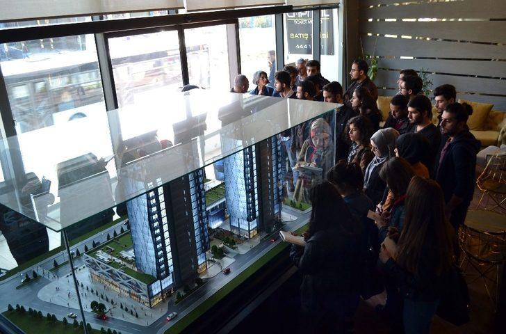 Ödüllü Proje Capital Ticaret Merkezi geleceğin mimarlarına ders konusu oldu