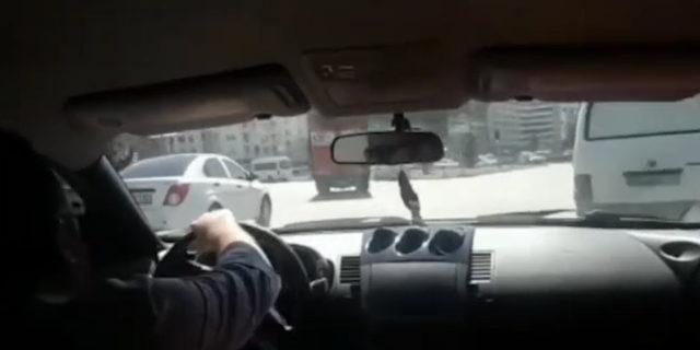 Trafikte dehşet saçtı! Böyle usta şoförlük olmaz olsun