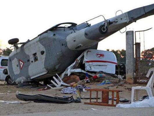 Ülke şokta! Bakan ve Valiyi taşıyan helikopter düştü