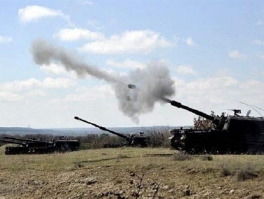 Suriye rejiminin Afrin'e gireceği iddiası sonrası bölge TSK tarafından bombalanıyor