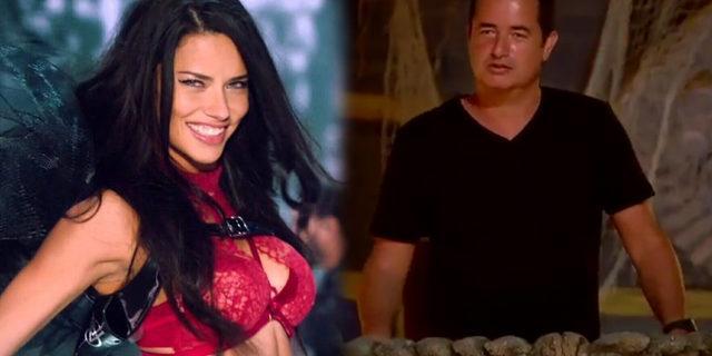 Acun Ilıcalı'ya Adriana Lima'dan ilginç Survivor mesajı!