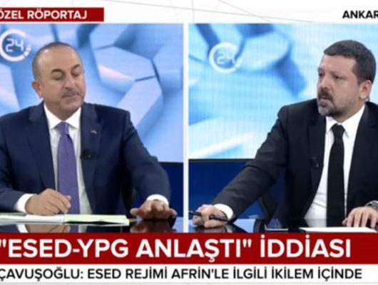 Çavuşoğlu'ndan son dakika Esad ve YPG açıklaması