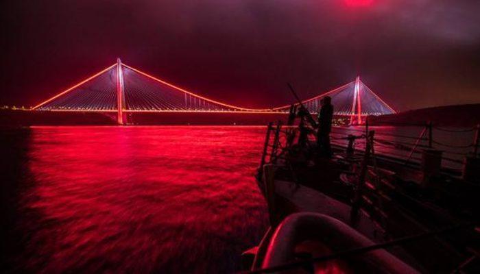 ABD donanmasından olay paylaşım... 'Yavuz Sultan Selim Köprüsü'yle mesaj!