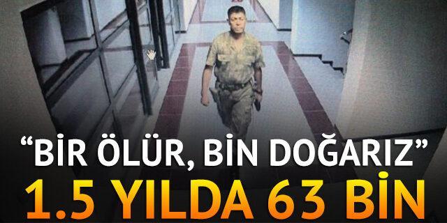 1.5 yılda 63 bin Ömer Halis