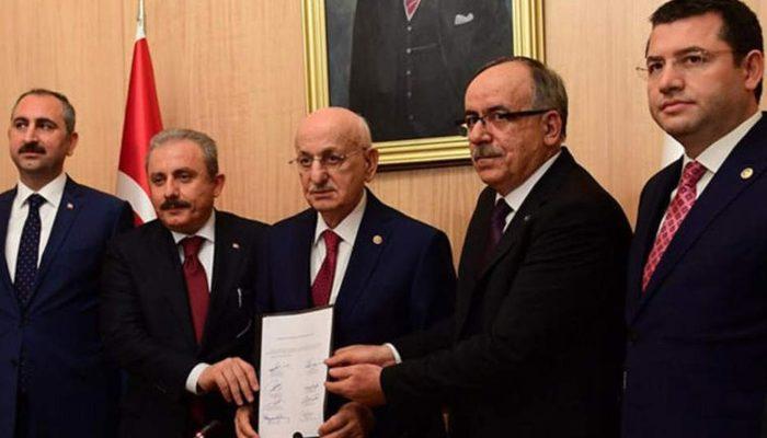 AKP ve MHP'nin Meclis'e sunduğu 'Cumhur İttifakı' kanun teklifi nedir?