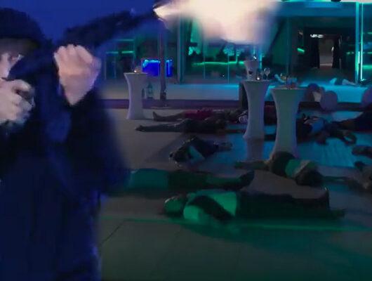 Börü 1. bölümden yeni öz izleme! Börü'de tüyler ürperten Reina katliamı sahnesi