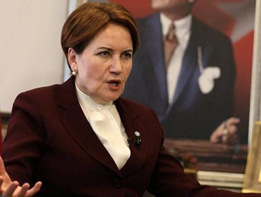 İYİ Parti Genel Başkanı Meral Akşener'e çirkin saldırı!