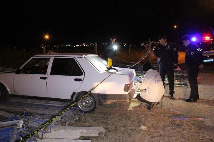 Karaman'da otomobile silahlı saldırı: 1 yaralı