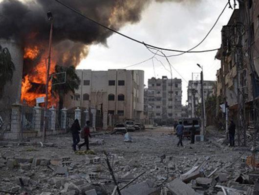 Doğu Guta'ya katliam sürüyor! 32 sivil hayatını kaybetti