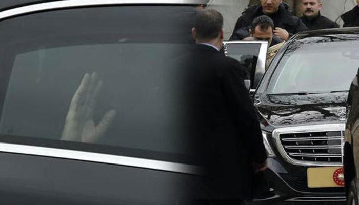 Erdoğan'ın konvoyunu durdurdu, bakın ne verdi