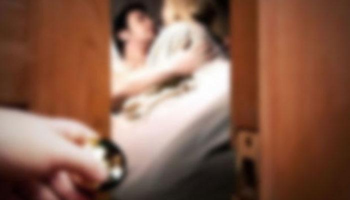 Yasak aşk skandalını oğlu ortaya çıkardı!