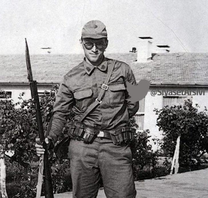 Çanakkale'de yedek subay öğrencisi Ahmet Mesut Yılmaz - 1975