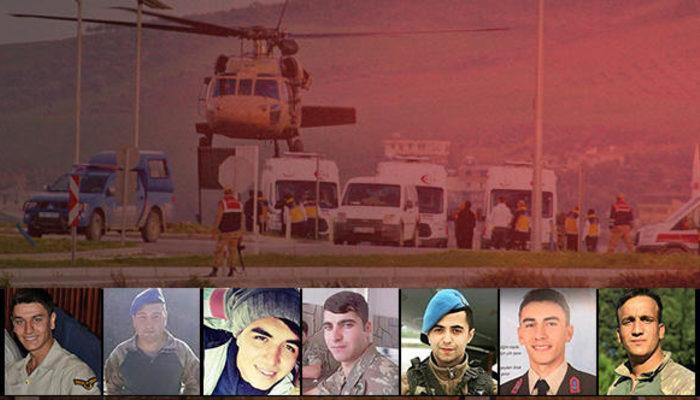 Afrin'de son dakika gelişmesi! TSK açıkladı: 8 asker şehit, 13 yaralı
