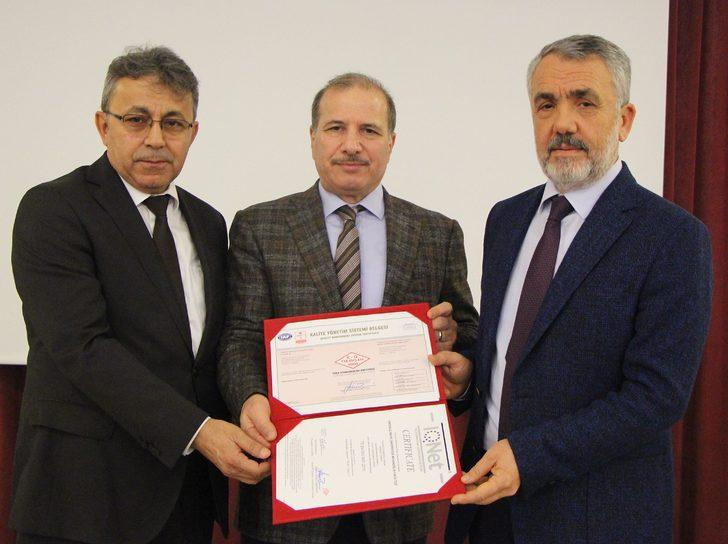 OMÜ Mühendislik Fakültesi'ne kalite belgesi