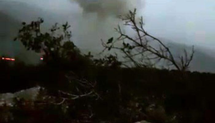 Afrin'de çatışma anı saniye saniye görüntülendi