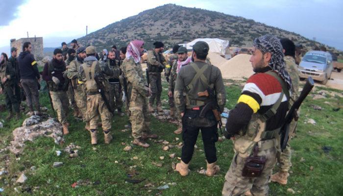 Raco'nun merkezine operasyon! İşte Afrin'den gelen son dakika haberler