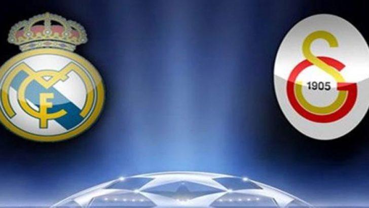 Real Madrid Galatasaray Maçı Şifresiz Hangi Kanalda?
