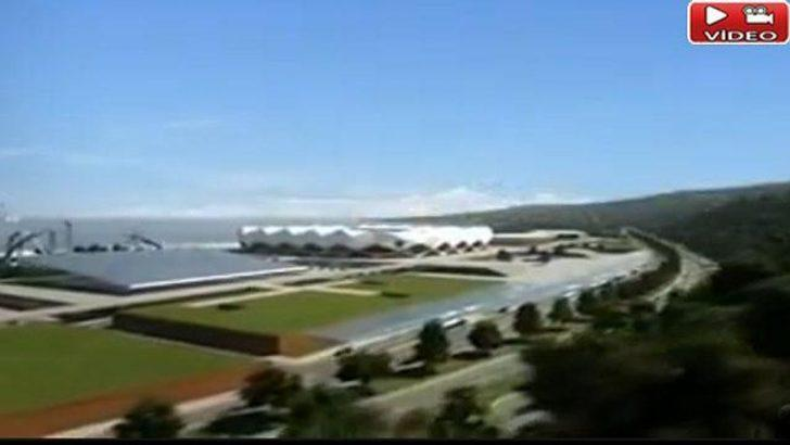 İşte Trabzonspor'un yeni stadı! (Video)