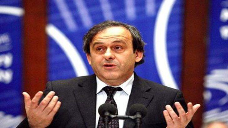 Michel Platini'den kötü haber...