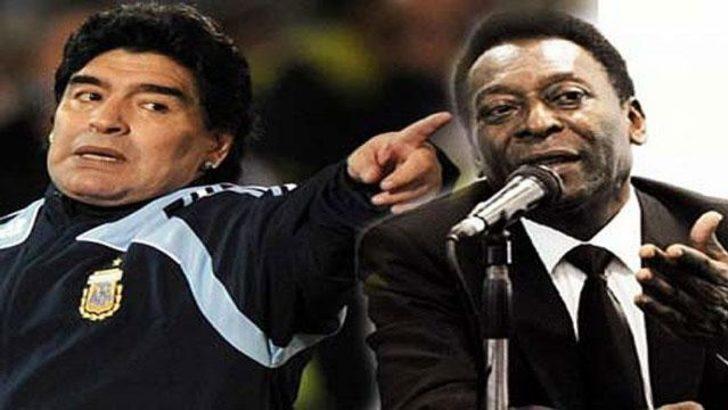 Maradona'dan Pele'ye cevap!