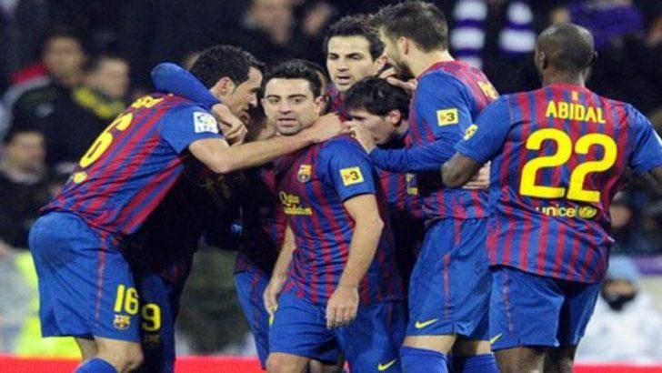 El Clasico'da yine Barça (Video)