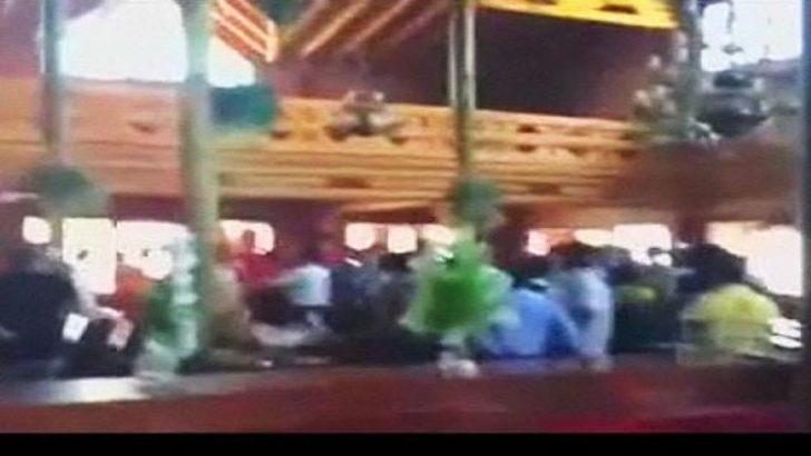 G.Saray'a çirkin saldırı..! (Video)