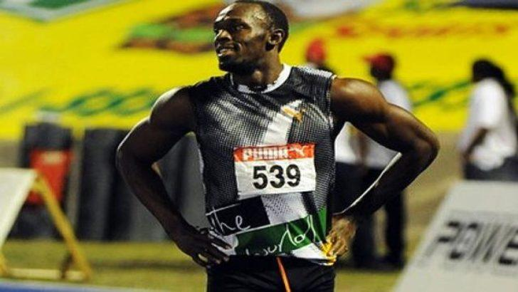 Ve Usain Bolt geçildi (Video)