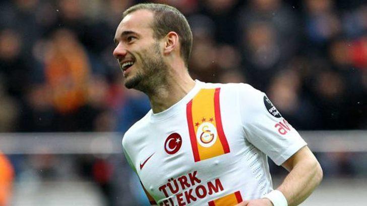 Galatasaray'a Sneijder müjdesi