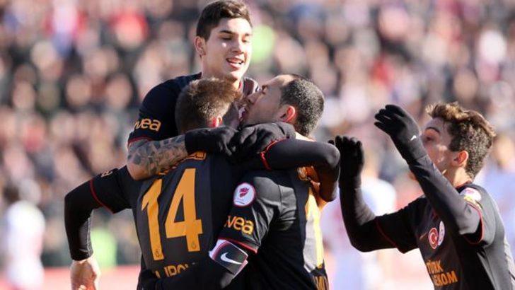 Galatasaray Tokat'ta ter attı