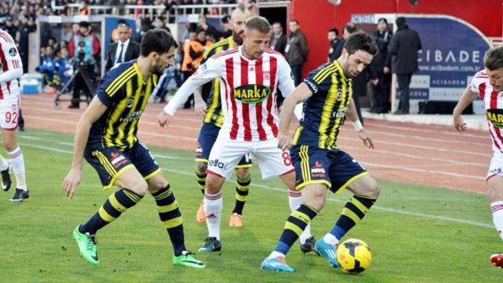 Fenerbahçe Sivas'ta yıkıldı