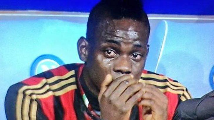 Balotelli'nin yıkıldığı an..