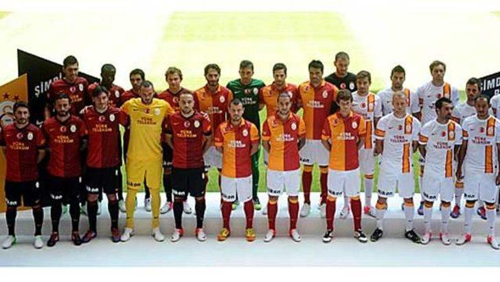 İşte Galatasaray'ın yeni sezon formaları!