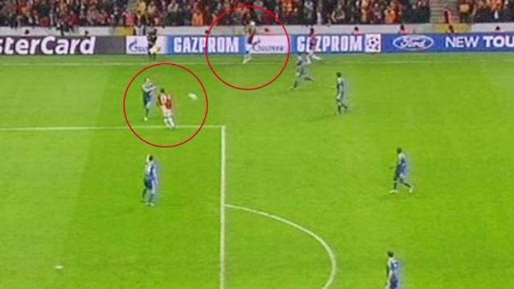 Galatasaray-Chelsea maçında 'Donk vakası'