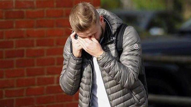 Luke Shaw gözyaşlarını tutamadı!