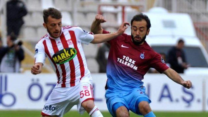 Trabzonspor Sivas'ta esti gürledi