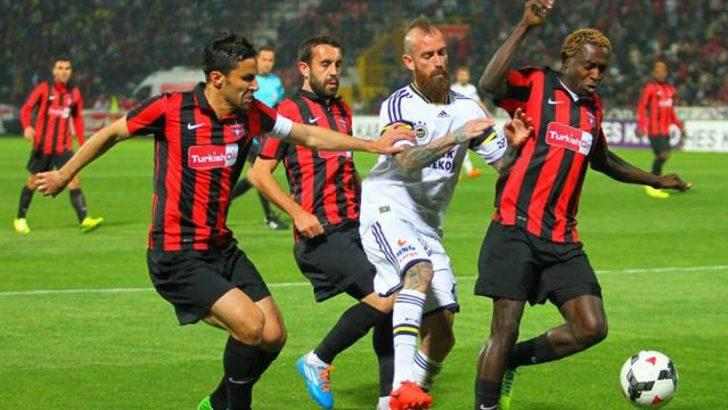 Fenerbahçe Gaziantep'te tam gaz..