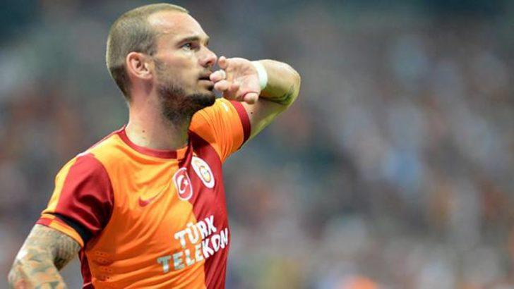 Sneijder'den Fenerbahçe'ye şok küfür!