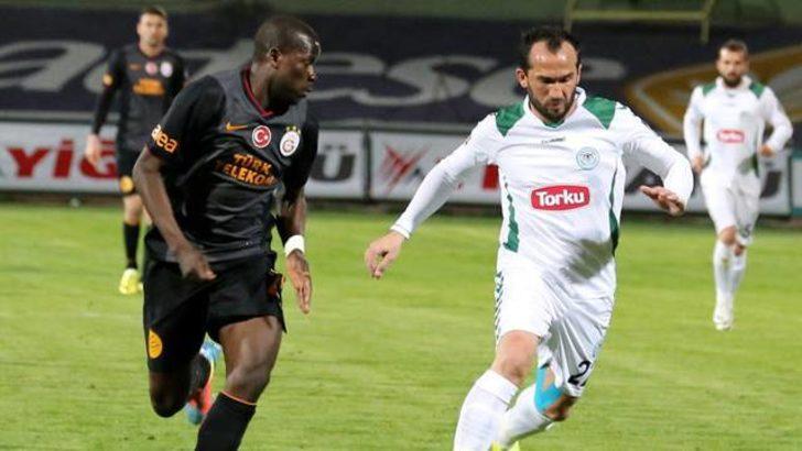Galatasaray Konya'da kayıp