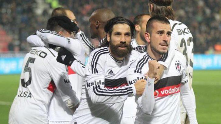 Eksik Beşiktaş'tan altın gibi üç puan