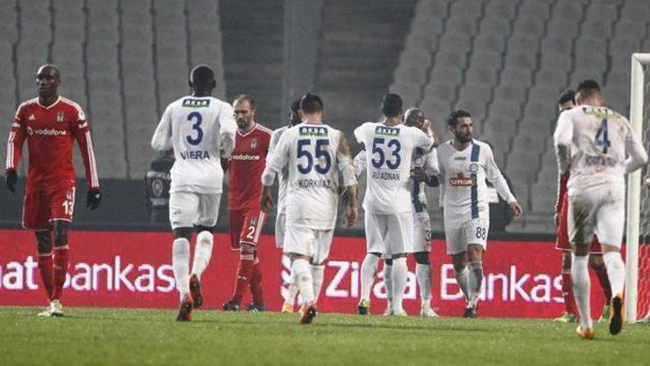 Beşiktaş'a kupada büyük şok