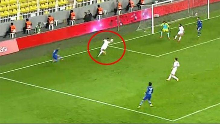 Şükrü Saracoğlu'nda yine penaltı tartışması